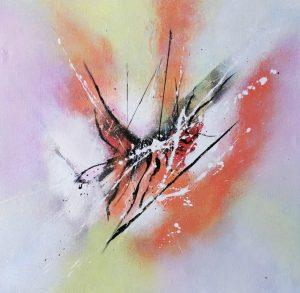 Original explosive Painting
