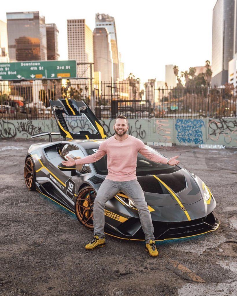 Lamborghini Huracan Performante With Gold Rims
