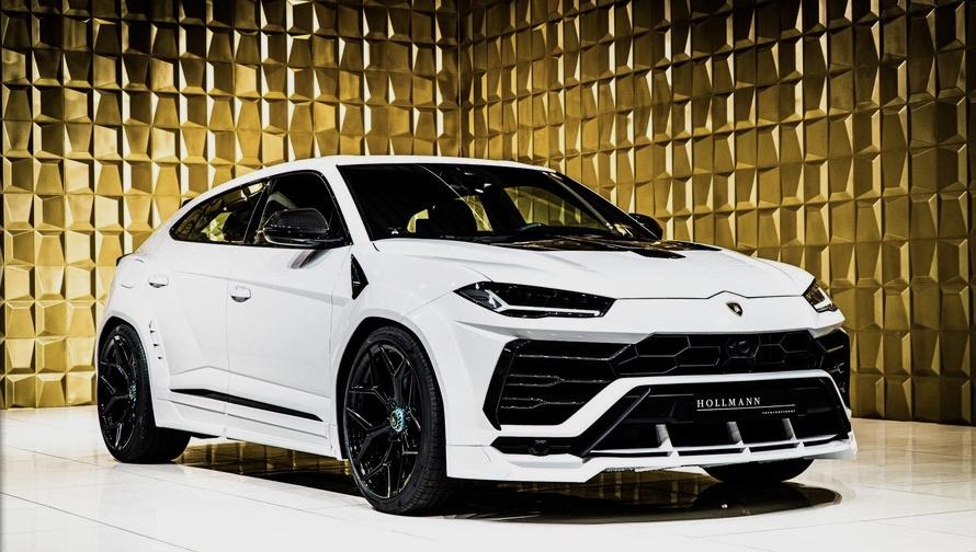 White Lamborghini Urus by NOVITEC FOR SALE
