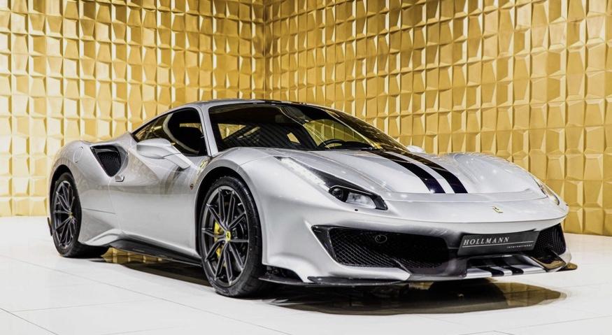 Silver Ferrari 488 Pista FOR SALE