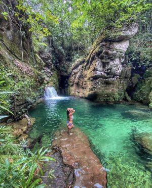 Crystal Waterfall Brazil