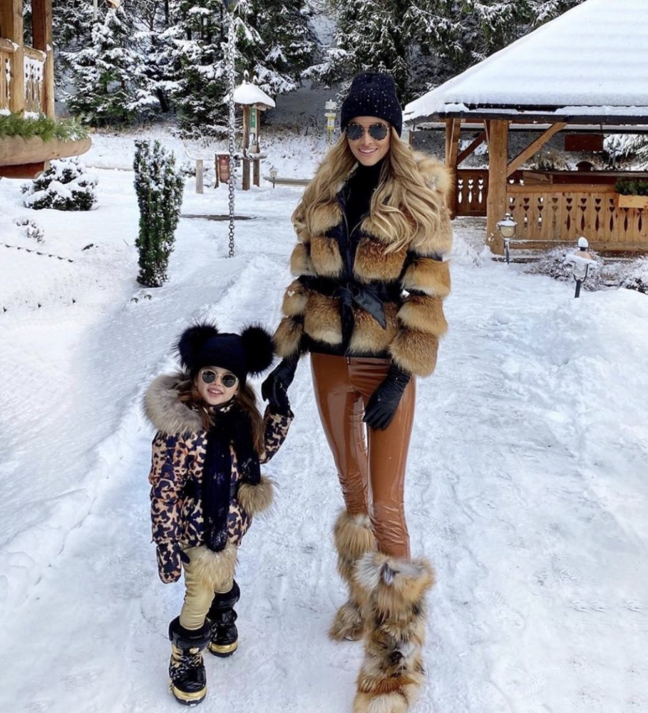 Mommy and Me custom fur look