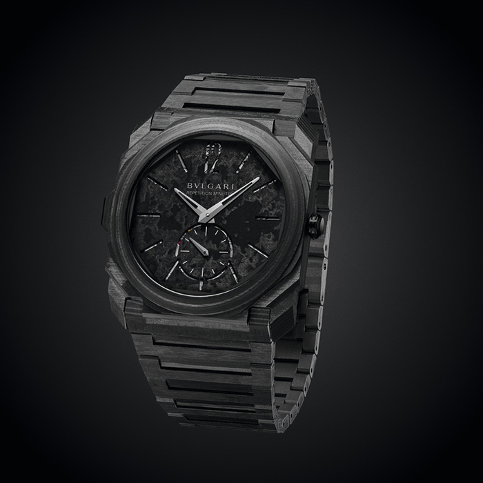 BULGARI OCTO FINISSIMO REPETION MINUTE CARBONE WATCH