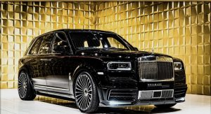 Black Diamond  Rolls-Royce Cullinan by MANSORY FOR SALE