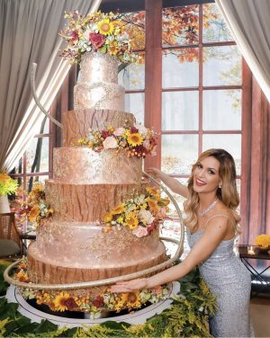 High Tier Wedding Cake