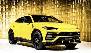 Yellow  Lamborghini Urus FOR SALE