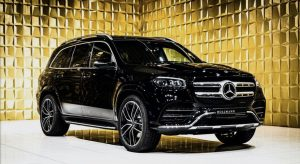 Black Mercedes Benz GLS 580 4MATIC FOR SALE