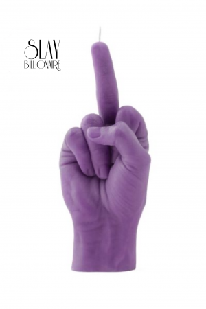 Purple F*ck you Candle