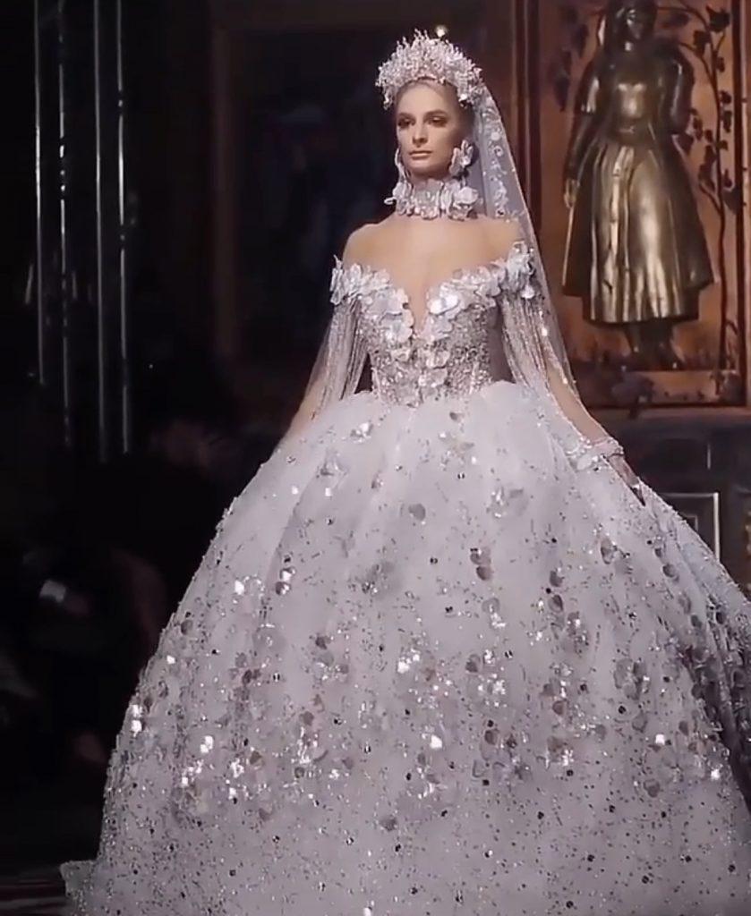 Worlds most extravagant dream wedding dress