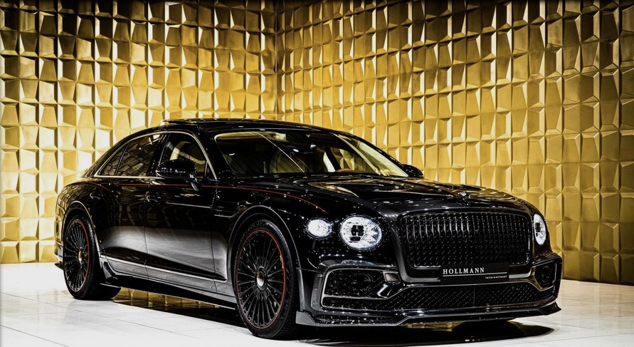 Black  Bentley Flying Spur FIRST EDITION by MANSORY  FOR SALE