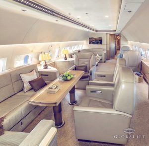 VIP Airbus 319 for Rent