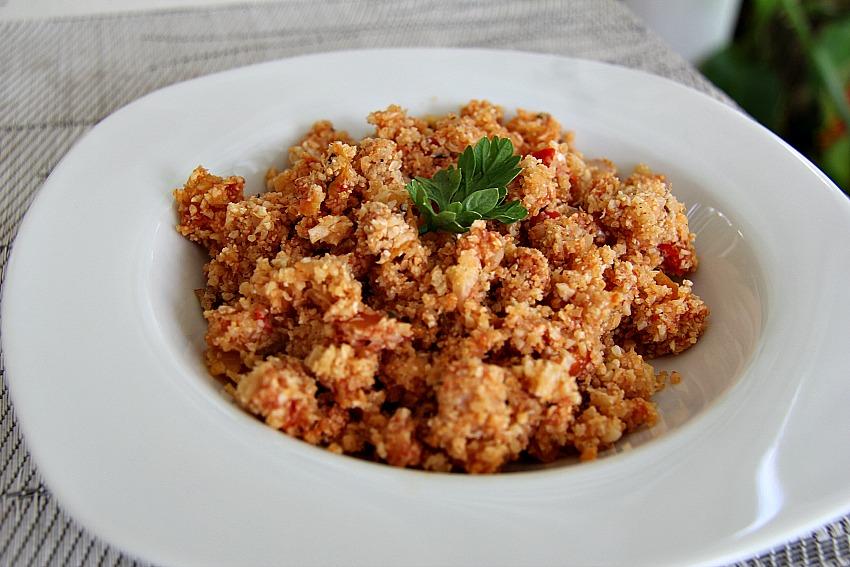 Cauliflower red rice
