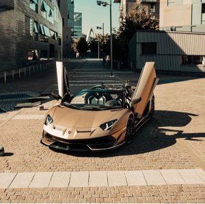 Stunning Lamborghini Colors