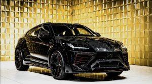 Black Lamborghini URUS by MANSORY FOR SALE