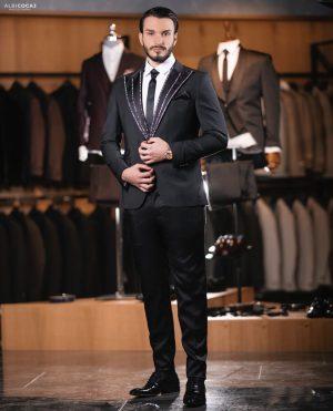 Embellished Mens fashion custom suit