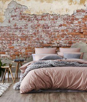 3D Custom Luxury Brick Wall, Loft, Industrial Vinyl Wallpaper Exclusive Design