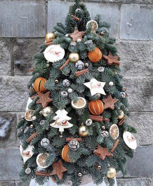 Custom Christmas tangy green tree
