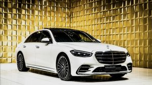 White  Mercedes-Benz S 400 d 4M Long MY2021 FOR SALE