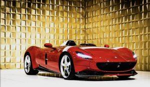 Red Ferrari MONZA SP1 FOR SALE