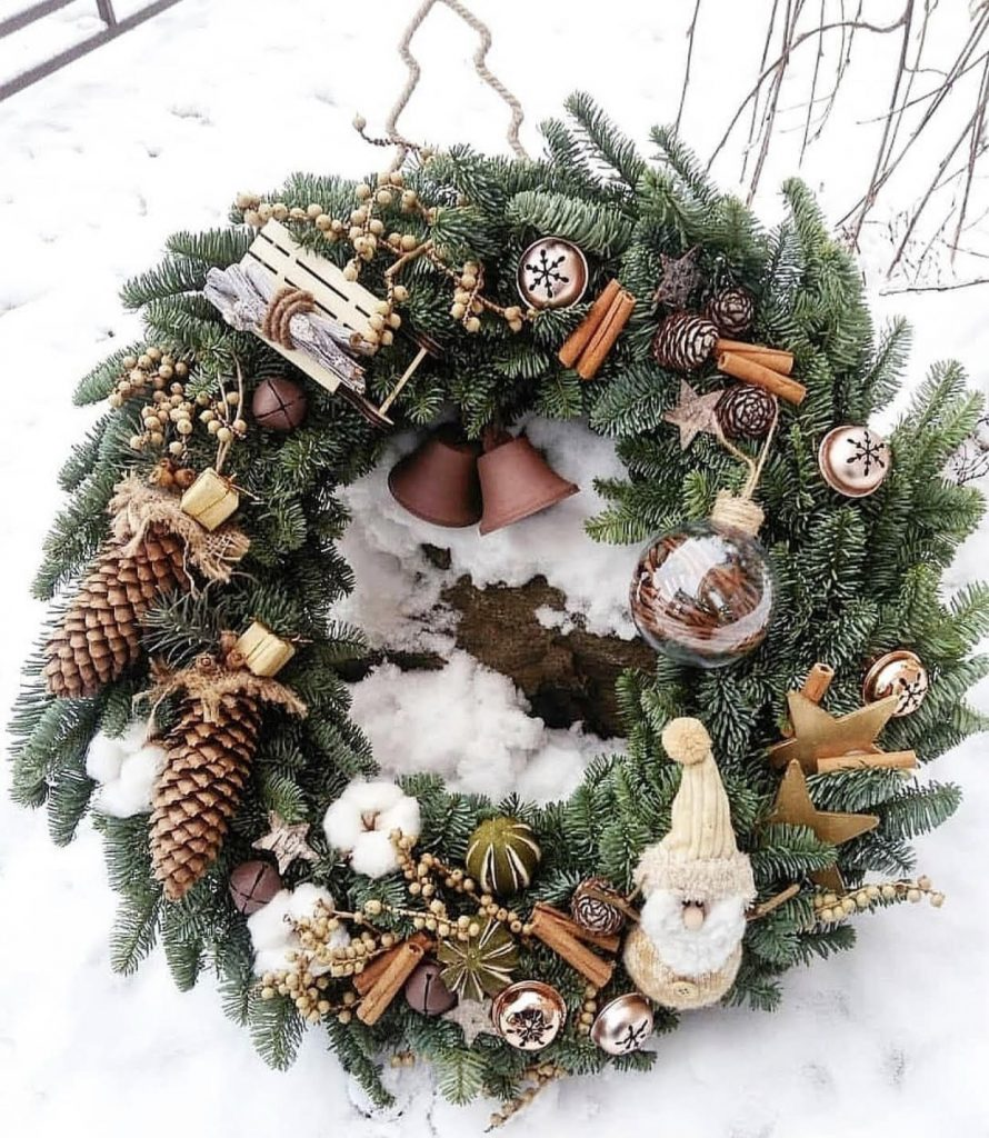 More than stunning luxury festive wreath