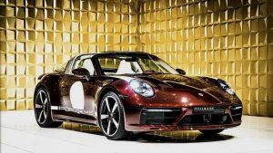 Red  Porsche 911 Targa 4S Heritage Design Editio FOR SALE