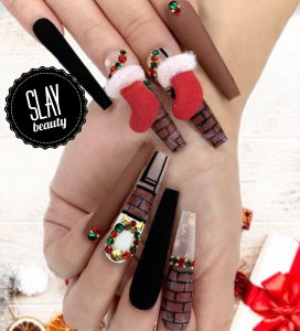 Luxury festive Quirky  Press on Nails