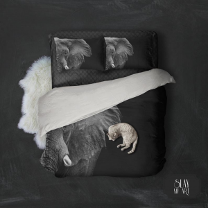 Luxurious 3D Luxury elephant Bedding