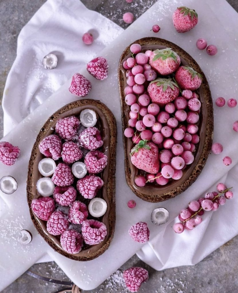 Healthy food that makes you feel delicious