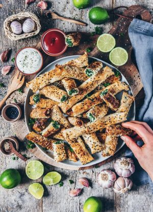 Vegan Turkish Borek Rolls