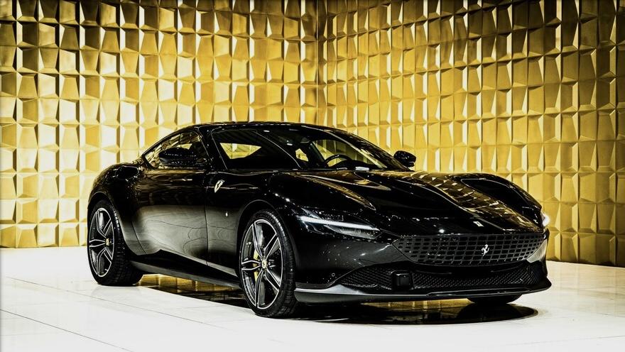 Black  Ferrari Roma FOR SALE