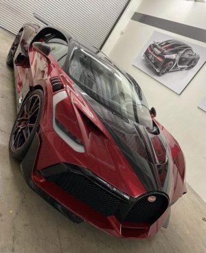 The 5.8 million USD Bugatti Divo