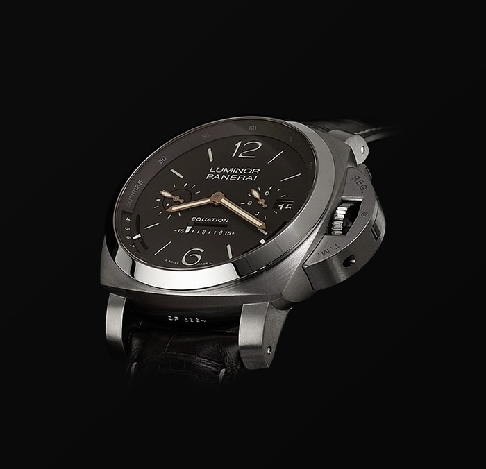 PANERAI EQUATION OF TIME TOURBILLON TITANIO ASTRONOMO WATCH