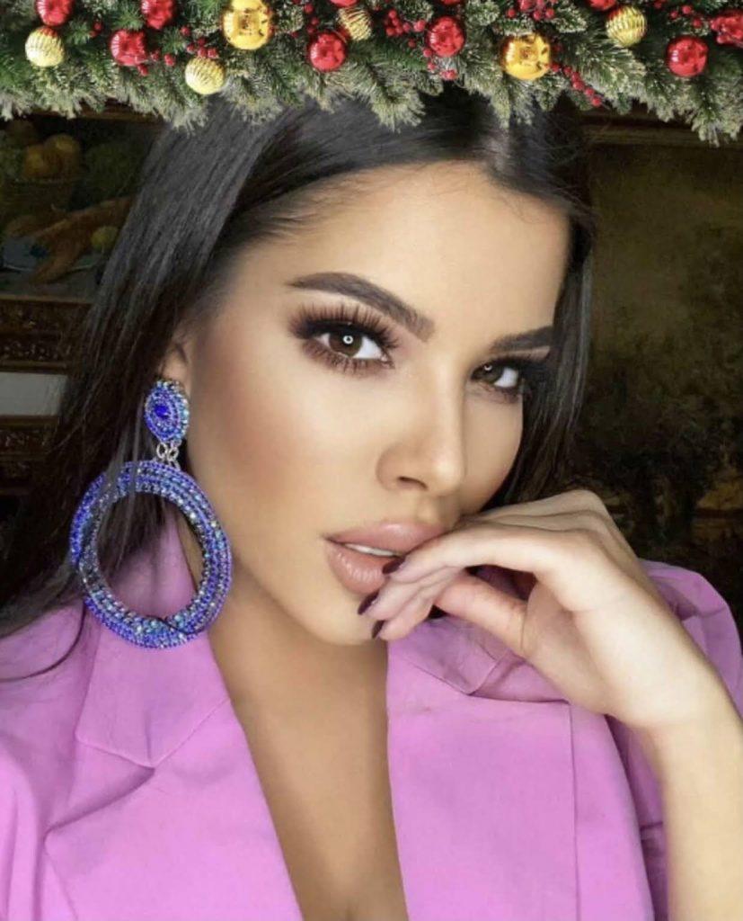 Luxury premium crystal blue earrings