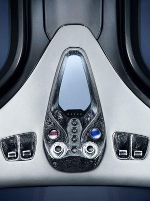 No 3 1050HP Blue McLaren Speedtail