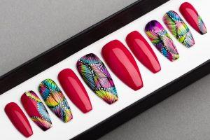 Luxury Miami  Press on Nails