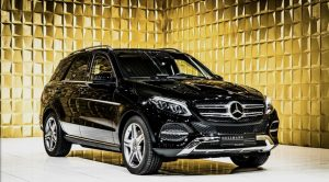 Black Mercedes Benz  GLE 500 4MATIC VR4 Guard FOR SALE