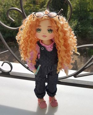 Special cute handmade premium doll