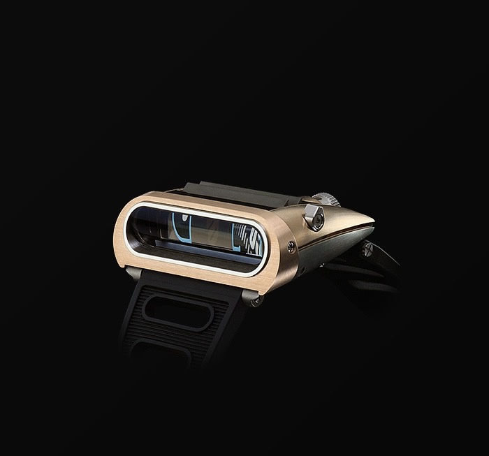 MB&F HM 5 PINK GOLD LIMITED EDITION WATCH