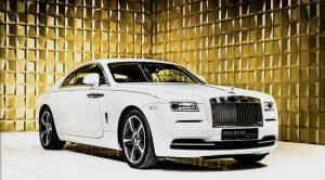 White Rolls Royce FOR SALE
