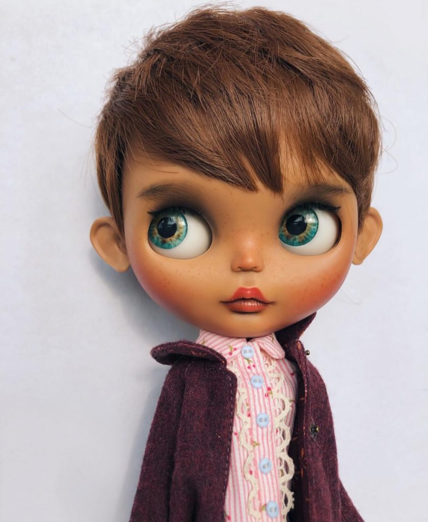 The cutest most extravagant OOAK doll you can buy