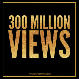 Slay Network releases its 300 Million views count milestone NFT