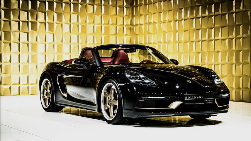 Porsche Boxster 25 years limited edition FOR SALE