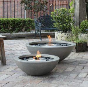 Eco friendly luxury fire bowl set
