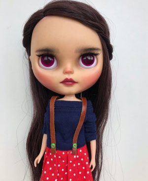 The most adorable luxe OOAK doll