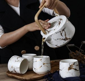 Top level hand sculpted dinnerware gift sets