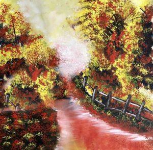Commission work Original watercolour painting