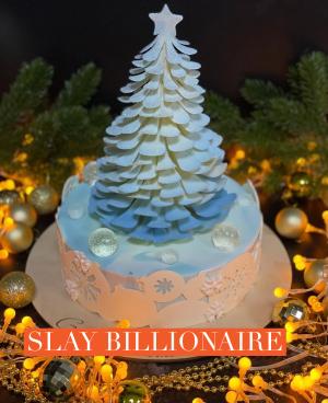 Celebration tree artisan gourmet cake