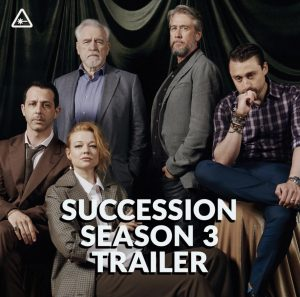 Succession book  3 is nearly here and we can't wait!