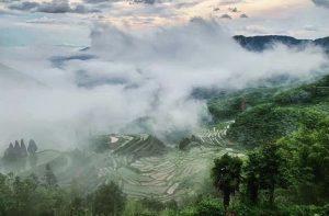 Yunhe cloud  terrace scenic area 4a