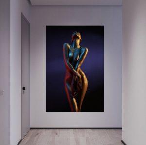 Luxury stunning woman art print